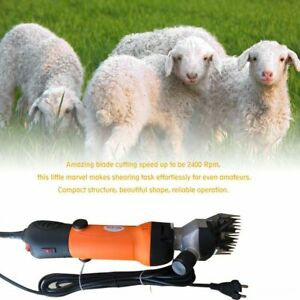 500w Electric Farm Supplies Sheep Shears Goat Clippers Animal Fur Shave Dr