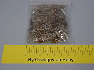 Solid Carbon Resistors Assorted Values And Wattages Used In Rf Transmitters