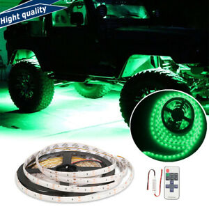 Neon Accent Rock Lights Green Led Underbody Glow Under Car Kit For Ram 1500 3500