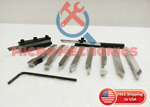 6mm Hss Lathe Pre formed Tools Parting Cut Off Tool Holders Combo 6mm Shank