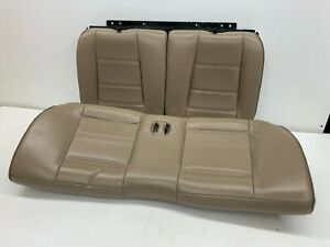 1999 2004 Oem Ford Mustang Coupe V6 Leather Rear Seats Back Seat S7929