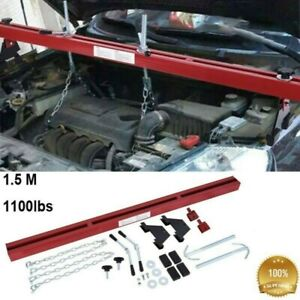 28 Engine Load Leveler 1100lbs Capacity Bar Transmission Support Dual Hook Red
