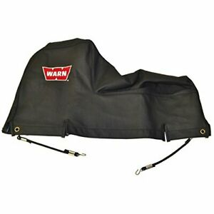 Warn 13916 Soft Winch Cover With Bungee Cord Fasteners For 9 5xp Xd9000 M6000