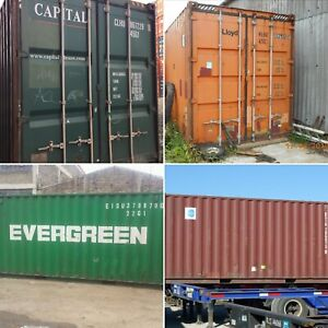 20ft 40ft Used Wind Watertight Shipping Containers salt Lake City best Price