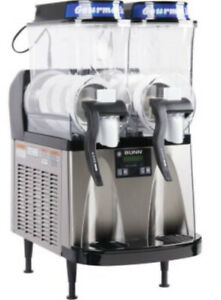 Bunn 34000 0080 Ultra 2 Hp Frozen Beverage System With 2 Hoppers Black