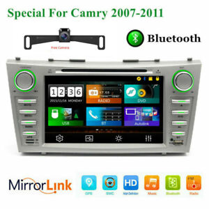 For Toyota Camry 2007 2008 2009 2010 2011 8 Car Dvd Cd Player Gps Radio Stereo