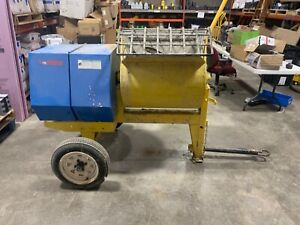 Concrete Mixer Portable Electric Towable Portable Used