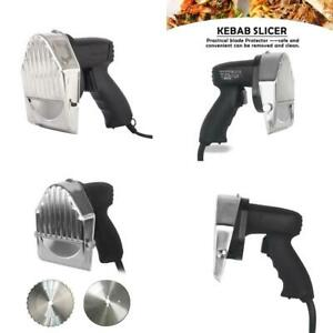Automatic Electric Kebab Slicer Kitchen Knife Doner Cutter Gyros Meat Cutting Ma
