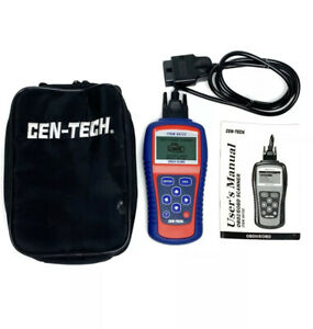 Centech Model 99722 Obdii Multilingual Automotive Code Scanner Cen Tech Cen Tech