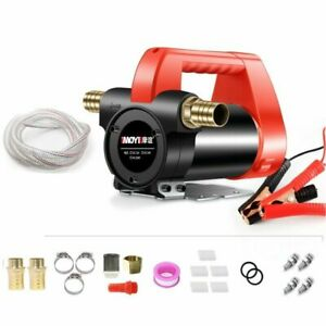 Electric Dc 24v Oil Pump Fuel Diesel Extractor Transfer Suction Pump For Car