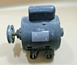Campbell Hausfeld Portable Compressor Motor 1 2 Hp Single Phase W 3 5 Pulley