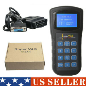 Super Vag Diagnostics Code Scanner K Can V4 8 Vw Au Di Skoda Obd2 Obd Immo Key