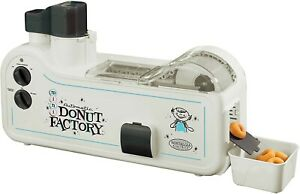 Nostalgia Automatic Mini Donut Factory Make Your Own Donuts Model Mdf200 Works