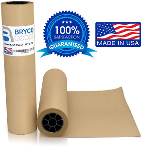 Brown Jumbo Kraft Paper Roll 18 X 2100 175 Made In The Usa Ideal For Gift