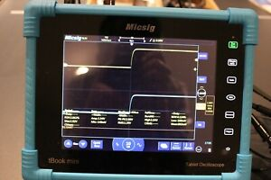 Micsig To1102 Digital Tablet Oscilloscope 100mhz 2 ch With Battery