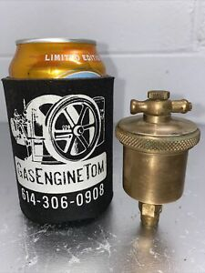 Lunkenheimer Ideal No 1 T handle Automatic Brass Grease Cup Hit Miss Vintage
