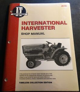 International Harvester Tractor Shop Service Manual 234 234 Hydro 254 Ih 55 New