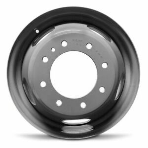 New 17 X 6 5 Dually Steel Wheel Rim 2011 2020 Gmc Sierra Chevy Silverado 3500