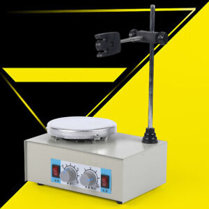 110v Digital Laboratory Hotplate Magnetic Stirrer Mixer Stirring Machine New Usa