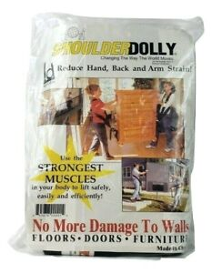Genuine Shoulder Dolly 2 Person Lifting Straps Furniture Moving System