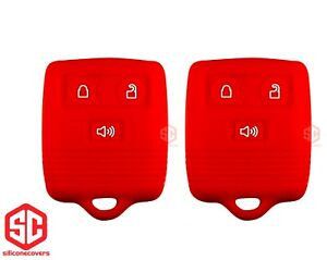 2x New Key Fob Remote Silicone Cover Fit For Ford Lincoln Mercury Mazda