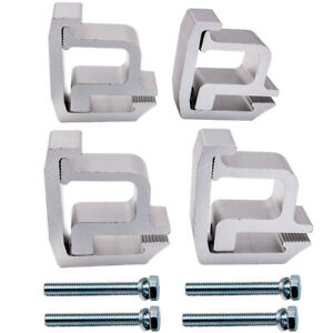 4 Heavy Duty Truck Cap Topper Camper Shell Mounting Clamps Clamp Width 1 125