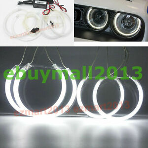 Ccfl 4 Halo Rings Angel Eyes For Dodge Challenger 2015 2020 Headlight Lamps Drl