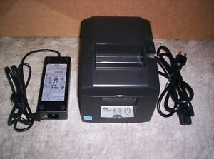 Star Tsp650ii Thermal Receipt Printer With Power Supply Bluetooth 654iibi2