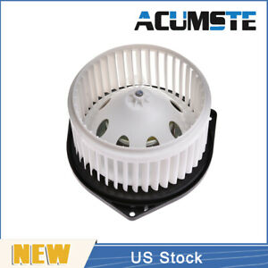 Heater A c Front Blower Motor W fan Cage For 03 17 Nissan Infiniti Q50 Qx60 370z
