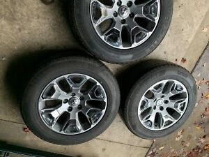 Dodge Ram Limited Wheels And Tires 27560r20 Tires 20x9 Aluminum Wheels 550 Obo