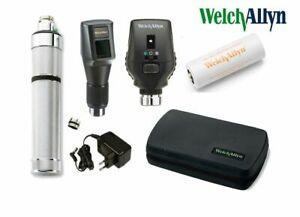 Welch Allyn 3 5v Retinoscope Ophthalmoscope With Ni cad Handle 18320 c