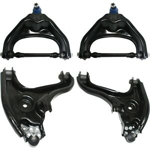 Control Arm Kit For 2000 2001 Dodge Ram 1500 Rwd Front Upper Lower Set Of 4