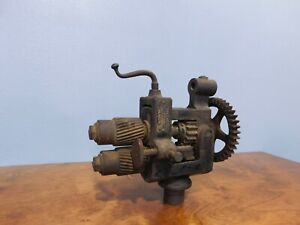 Antique Peck Stow Wilcox Bead Roller Crimper Sheet Metal Rolling Machine