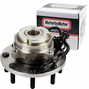 Front Wheel Hub And Bearings For 1999 2004 Ford F 450 Super Duty 2wd W Abs