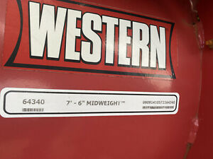 Western Snow Plow 7 6 Midweight Ultra Finish