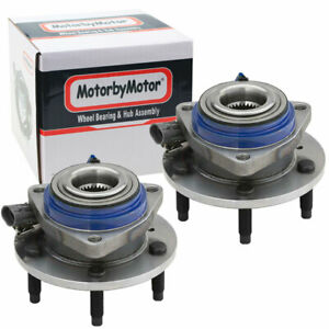 Set 2 Front Wheel Hub Bearing Assembly W Abs For Chevy Cadillac Buick 513121