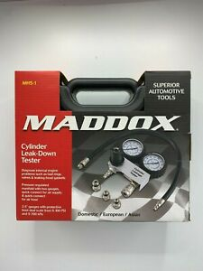 Maddox Mh5 1 Cylinder Leak Down Tester Engine Compression Lost Test Gauges New