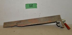 Vintage Jointer Joiner No 503170 Cast Iron Fence Adjustable Woodworking Tool D8