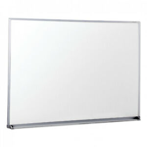 Dry Erase Board 48 X 36 Universal Melamine Satin finished Aluminum Frame New