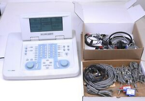 Welch Allyn Gsi 61 Grason Stadler Audiometer 2 Channels W Headphones Cables