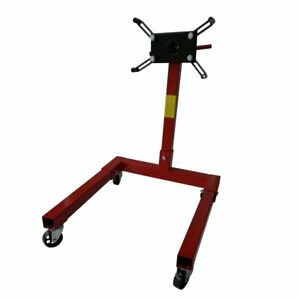 New Red Engine Stand 1250lbs Capacity 360 Degree Head Motor Stand