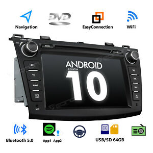 8 Android 10 Car Stereo Radio Gps Dvd Player Cd Radio Audio For Mazda 3 Mazda3