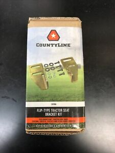 Countyline Flip Tractor Seat Bracket Fits John Deere Cub Ford Massey And More