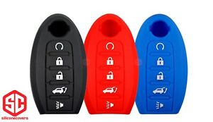 3x New Keyfob Remote Fobik Silicone Cover Fit For Select Nissan Vehicles