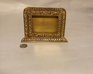 Vintage Marshall Field Co Bronze Business Card Holder Authentic