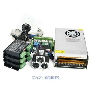 Cnc Kit 3 Axis With Nema11 13oz in Stepper Motor Ema2 040d15 Stepper Driver