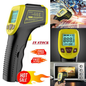 Digital Thermometer Infrared Handheld Temperature Gun Non contact Ir Laser Point