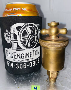 T handle Automatic Brass 901 Grease Cup Hit Miss Vintage 1 4 Thread