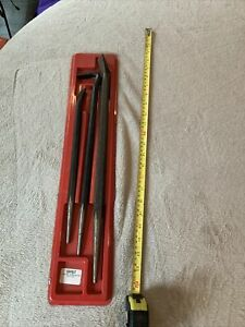 Matco 3pc Pry Bar Set Some Surface Rust