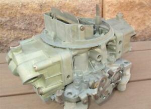 Holley Carb List 4801 1971 Corvette Lt1 Camaro Z 28 Dated 081 Very Clean Oem Wow